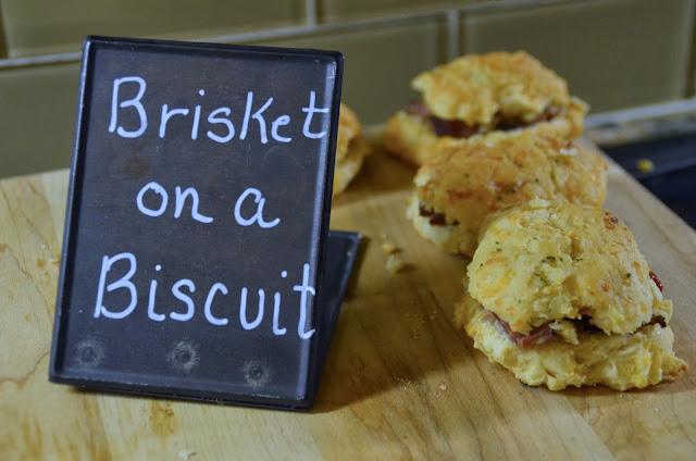 Brisket on a Biscuit