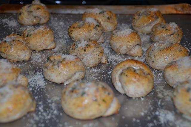 Parmesan Knots and Garlic Knots