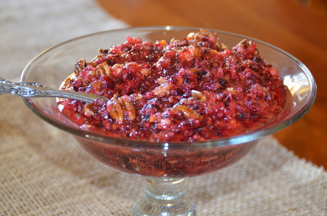 Kinsey Cranberry Orange Relish