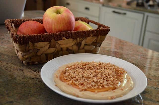 Caramel Cream Apple Dip
