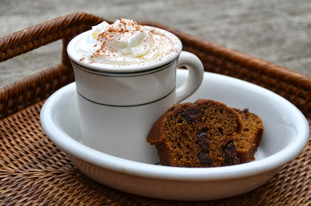 Pumpkin Mocha Bread
